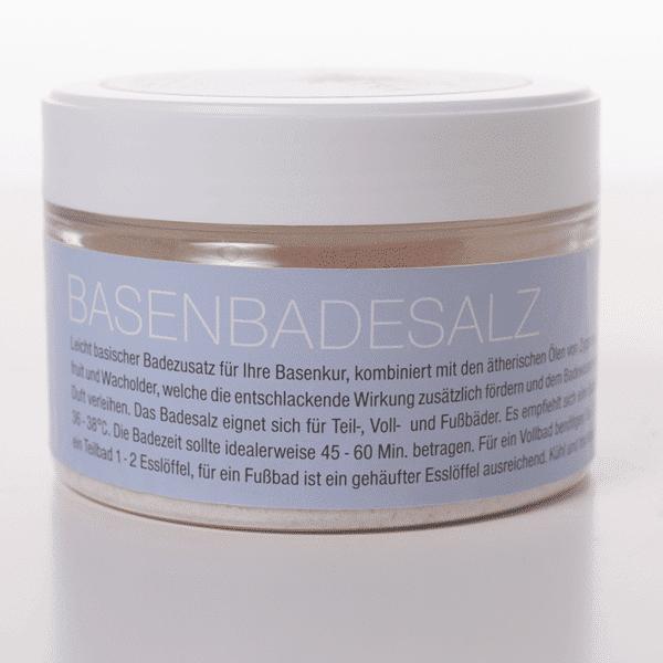 Basen-Badesalz-Beschreibung